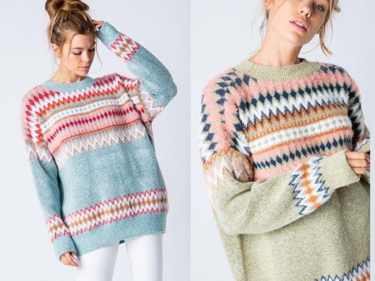 fair isle knit sweaters