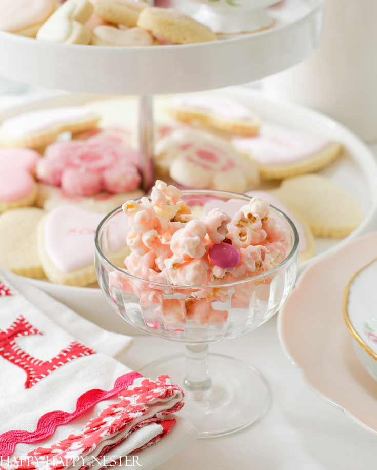 Valentine's desserts for a tray