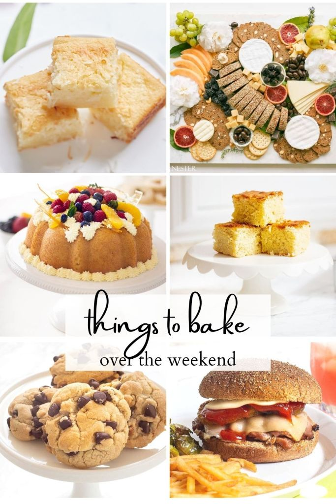 things to bake over the weekend