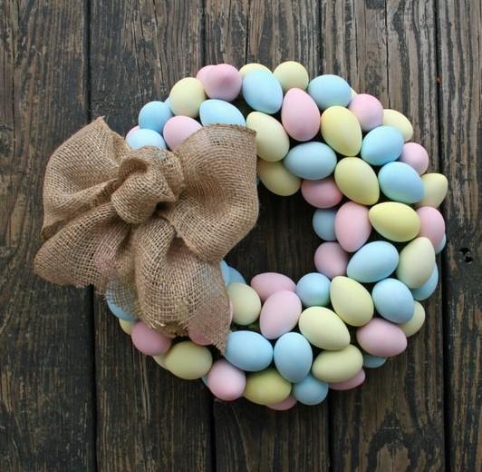 cute wreaths for spring