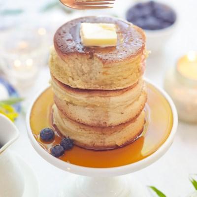 Fluffy Japanese Pancake Recipe (Souffle)