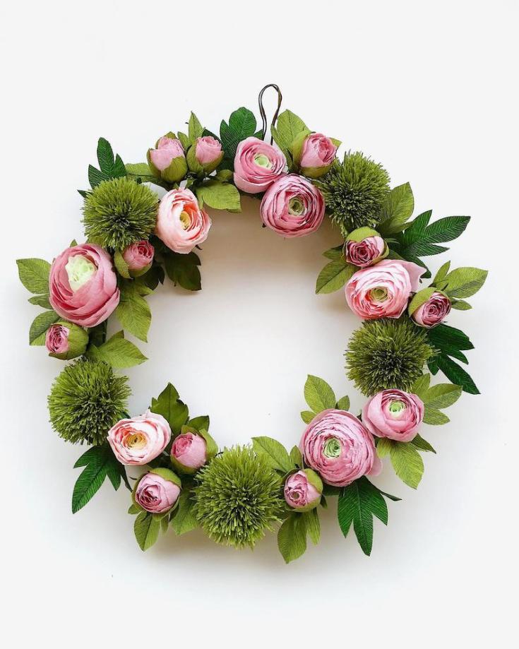 cute spring wreaths