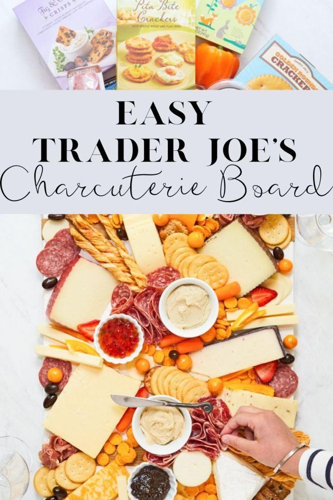 trader joes charcuterie board pin