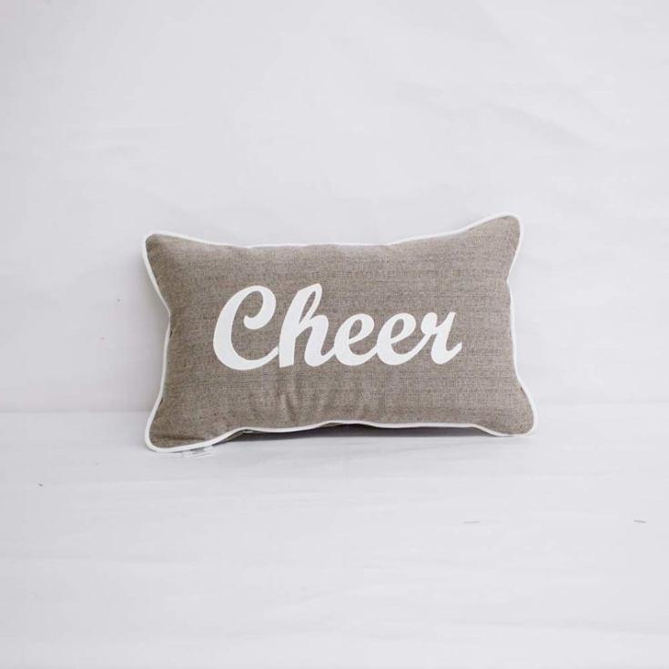 cheer pillow
