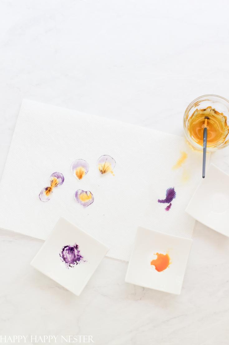 wedding cake flowers tutorial