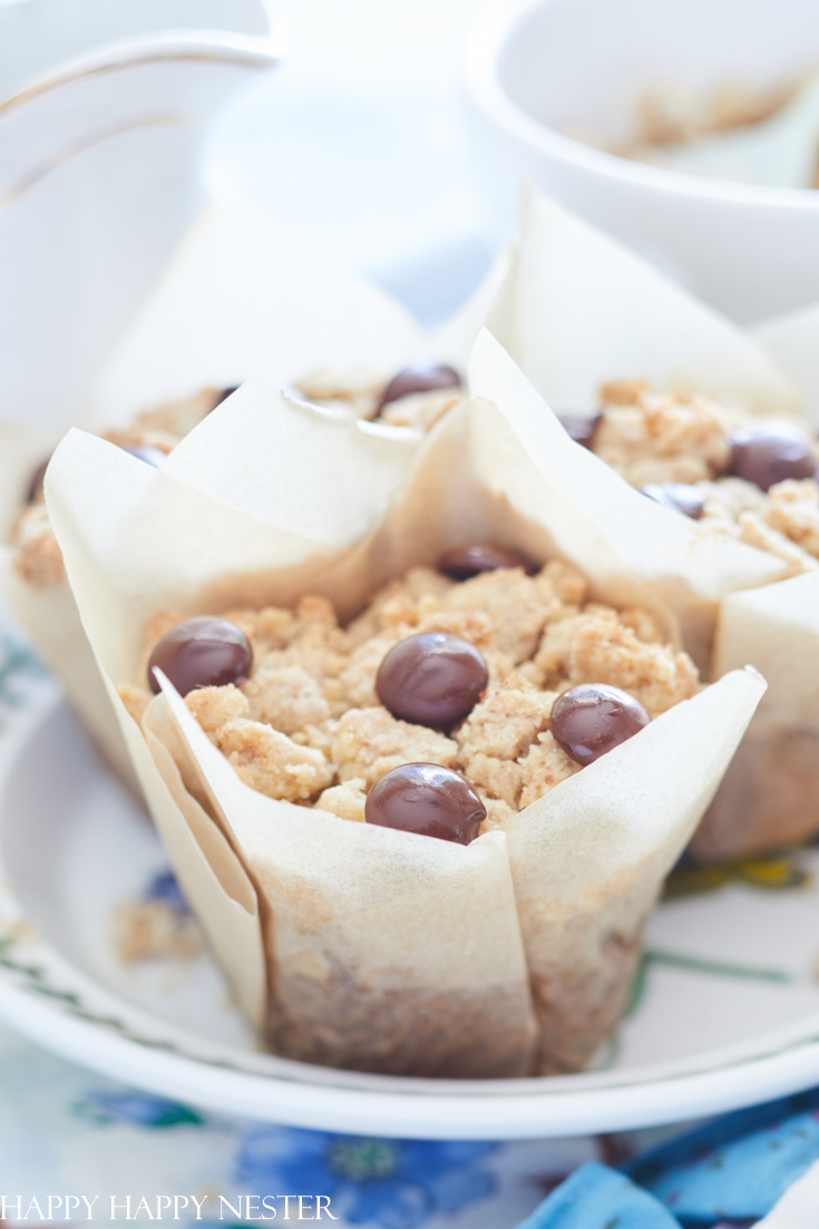 bakery style carrot cake muffins