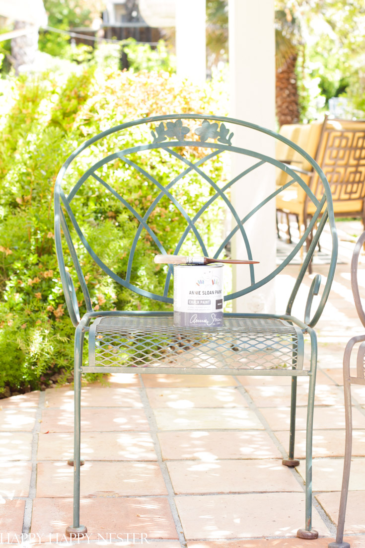 how to restore outdoor chairs
