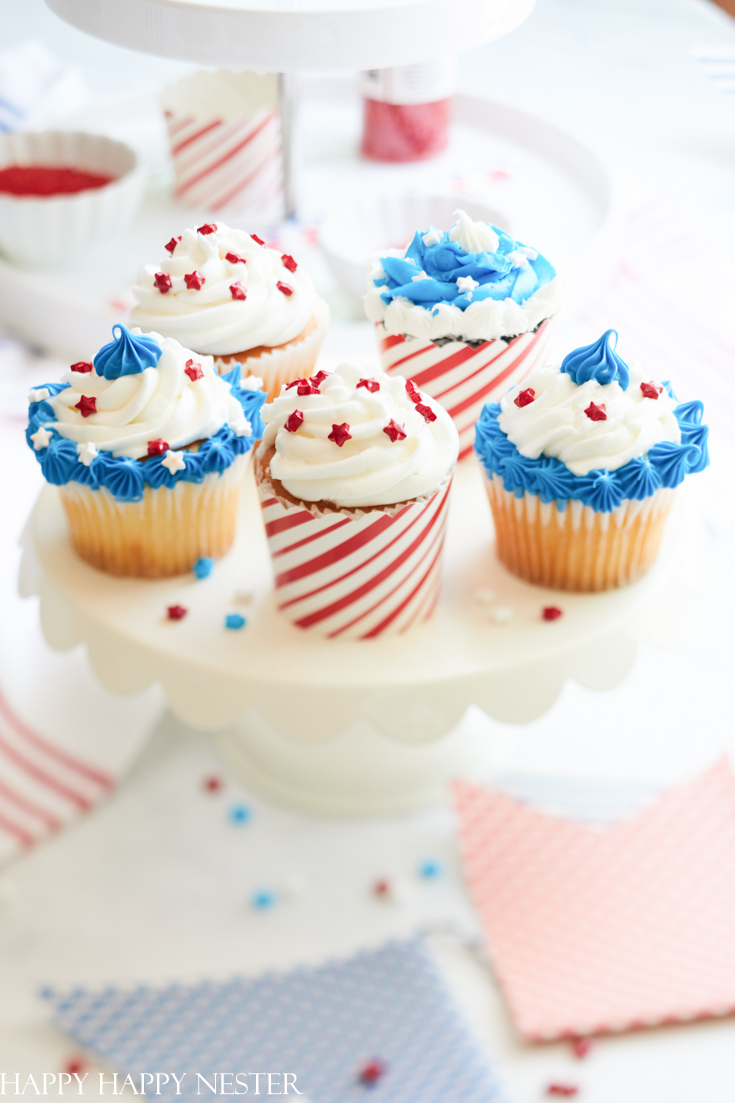 4th of july cupcake decorating ideas