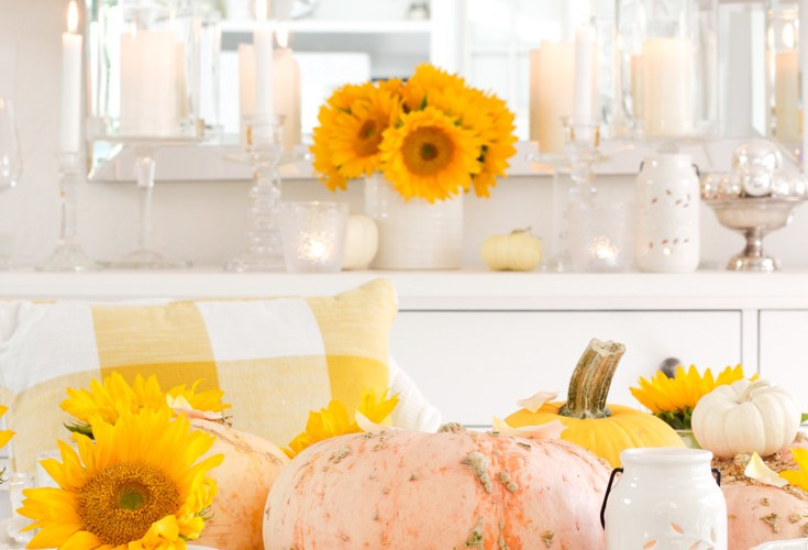 fall table with Walmart