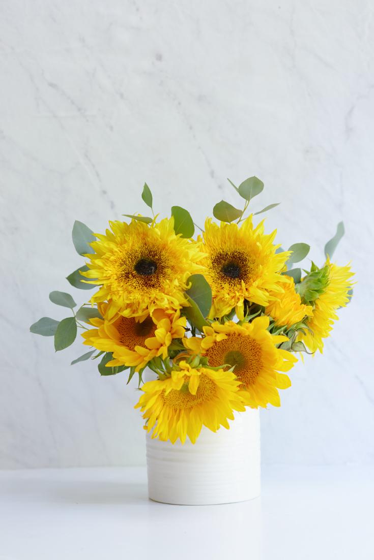pretty floral arrangements diy