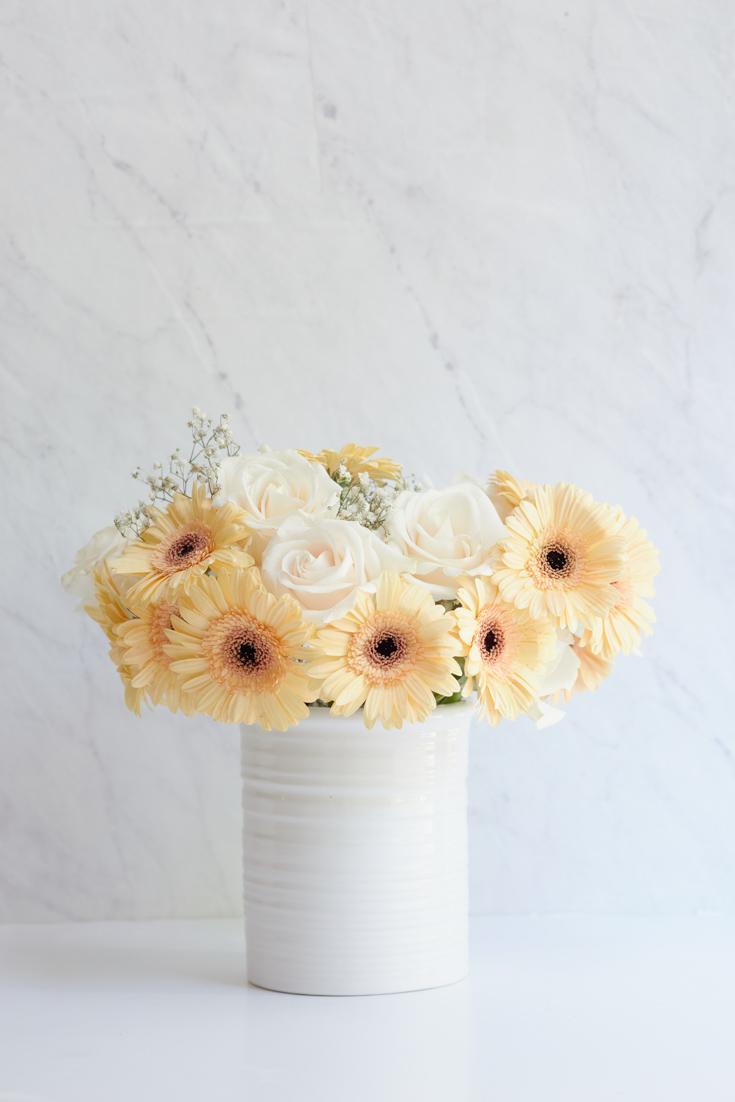 floral centerpiece tutorial