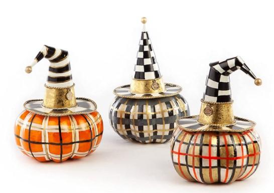 ceramic Halloween decorations