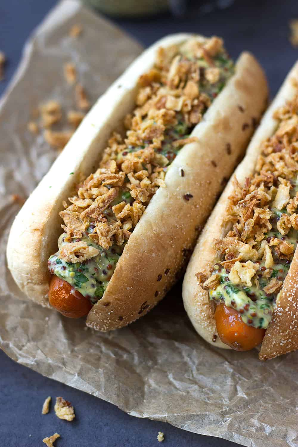 meat-free hot dog