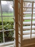 How to Repair Floppy Plantation Shutters