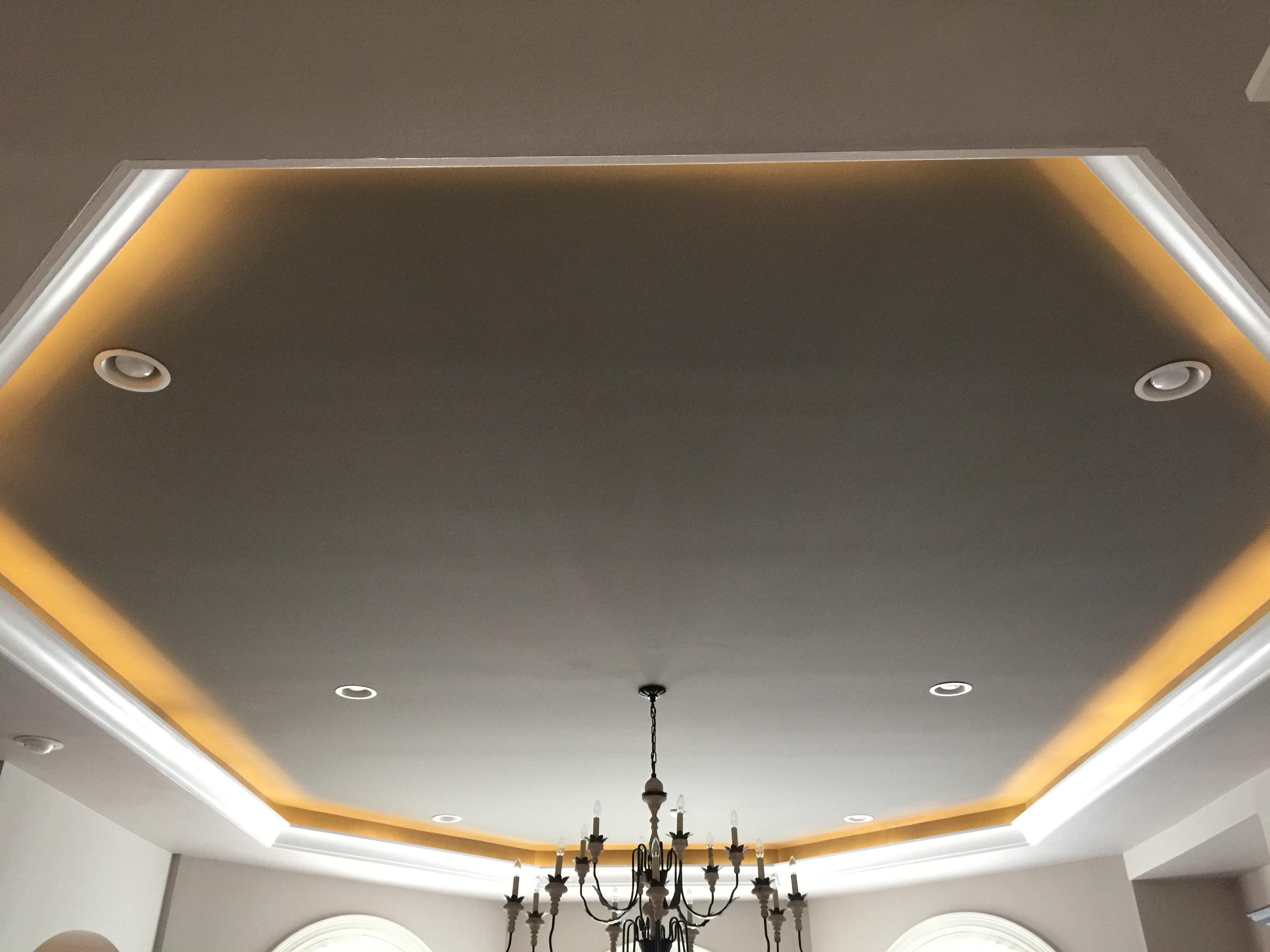 Ceiling Molding & Cove Lighting Ideas