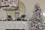 """Modern French Country Christmas"" Sunroom Tour and Remodel 2017"