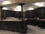 """""""Basement Bar Remodel"""" One Room Challenge - (Week 4) Painting Cabinets"""