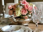 """Mother's Day """"Silver Teapot Flower Arrangement"""" Step by Step Guide"""