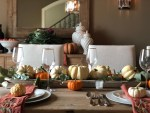 Dining Room Fall Tablescape Ideas