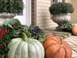 Decorating the Front Porch for Autumn