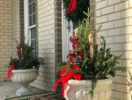 Decorating the Front Porch for Winter