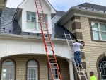 "Exterior Home Modernization ""One Room Challenge"" (Week 2) Prepping the Brick for Primer"