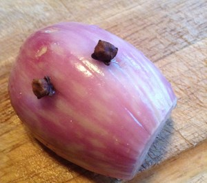 shallot with cloves