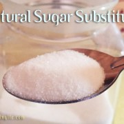 natural healthy sugar substitutes