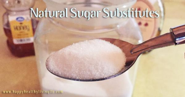 natural healthy sugar substitutes