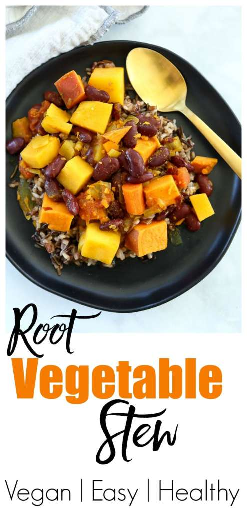 Root Vegetable Stew Recipe #vegan #glutenfree #healthy #weeknightdinner