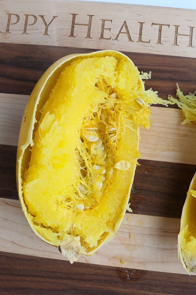How To Cook Spaghetti Squash Instant Pot instructions