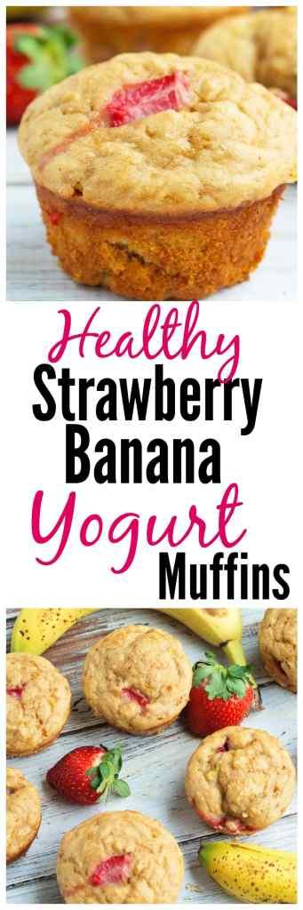 strawberry-banana-yogurt-muffins-recipe