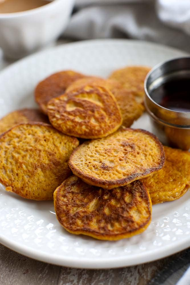 Get 3 Sweet Potato Pancake Recipe Background