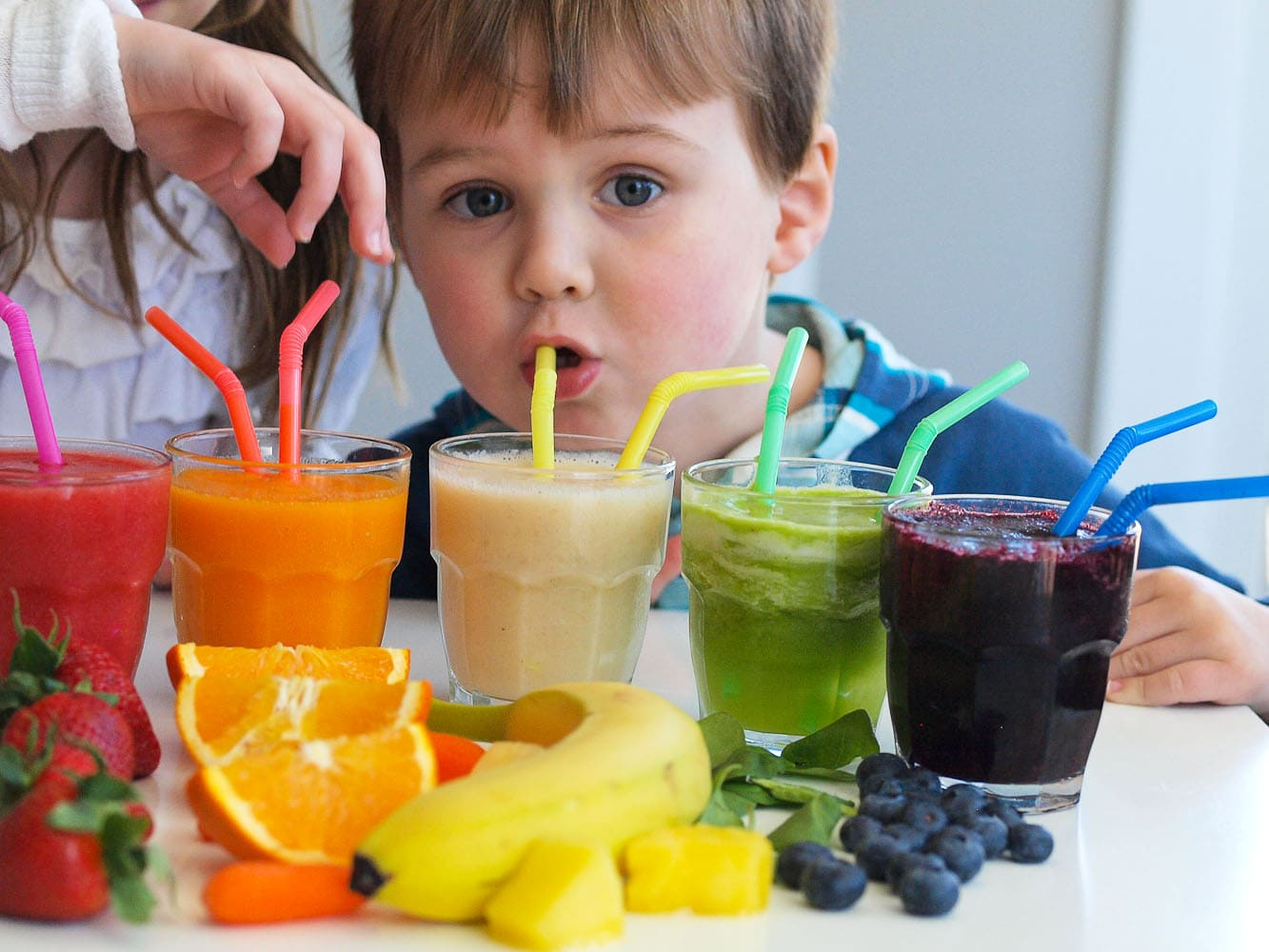 Rainbow Smoothies A Tasting Activity For Kids