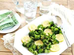 Luke's Favorite Broccoli--this is the 8 minute side dish that got my son loving broccoli.