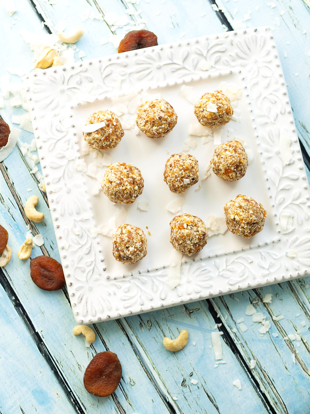 Coconut Apricot Energy Balls Happy Healthy Mama