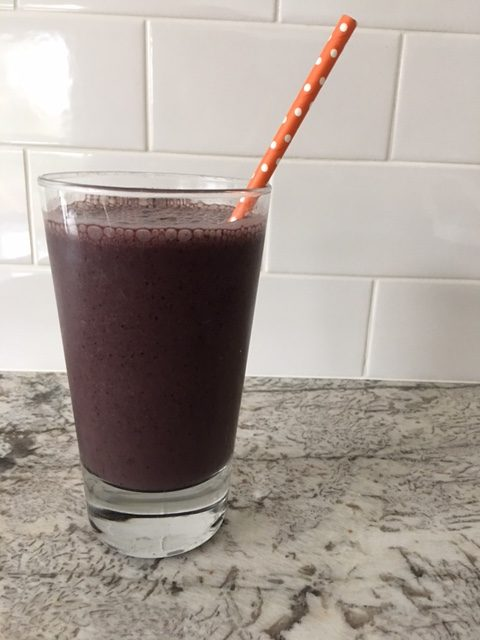 Maca Root Powder Smoothie