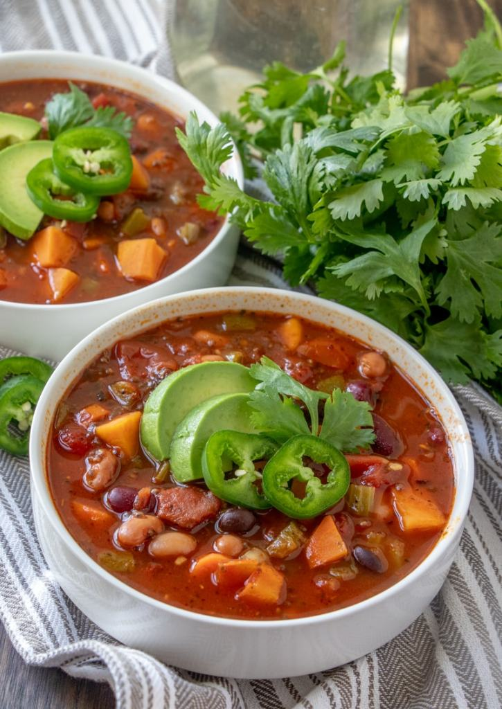 Crockpot Vegan Chili recipe