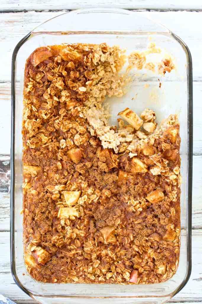 Apple Cinnamon Baked Oatmeal Recipe