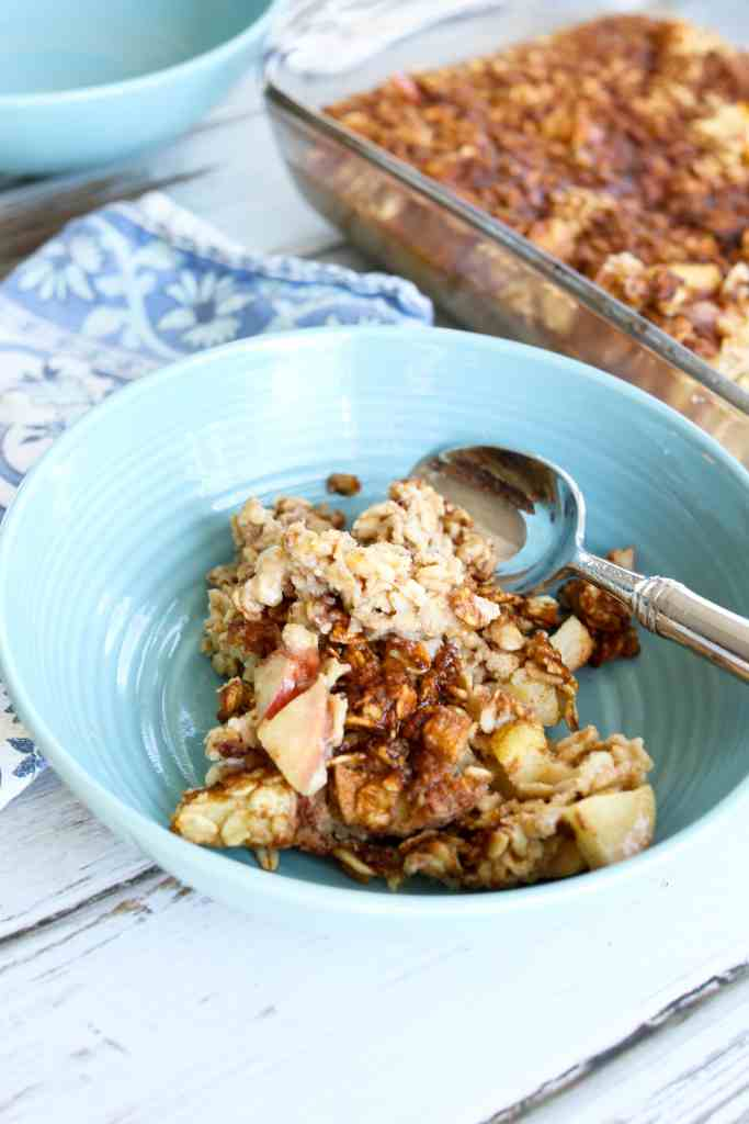 Apple Cinnamon Baked Oatmeal Recipe