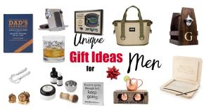 Unique Gift Ideas for Men