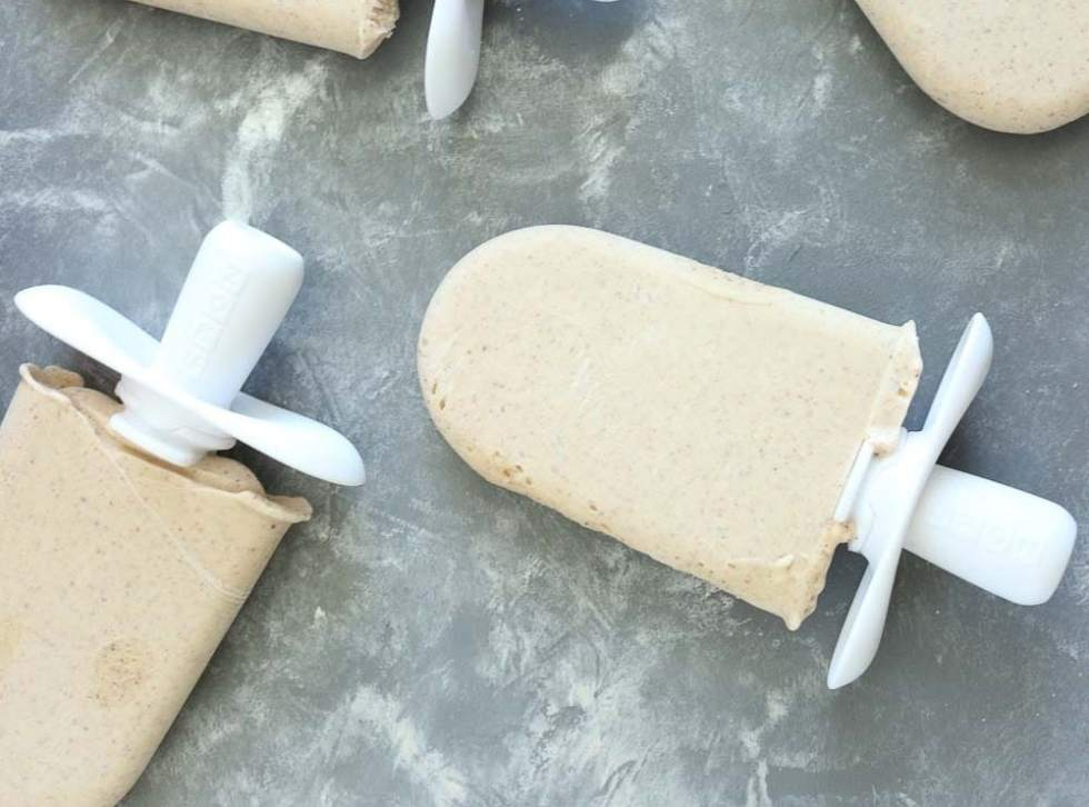High Protein Low Carb Almond Vanilla Popsicle Recipe