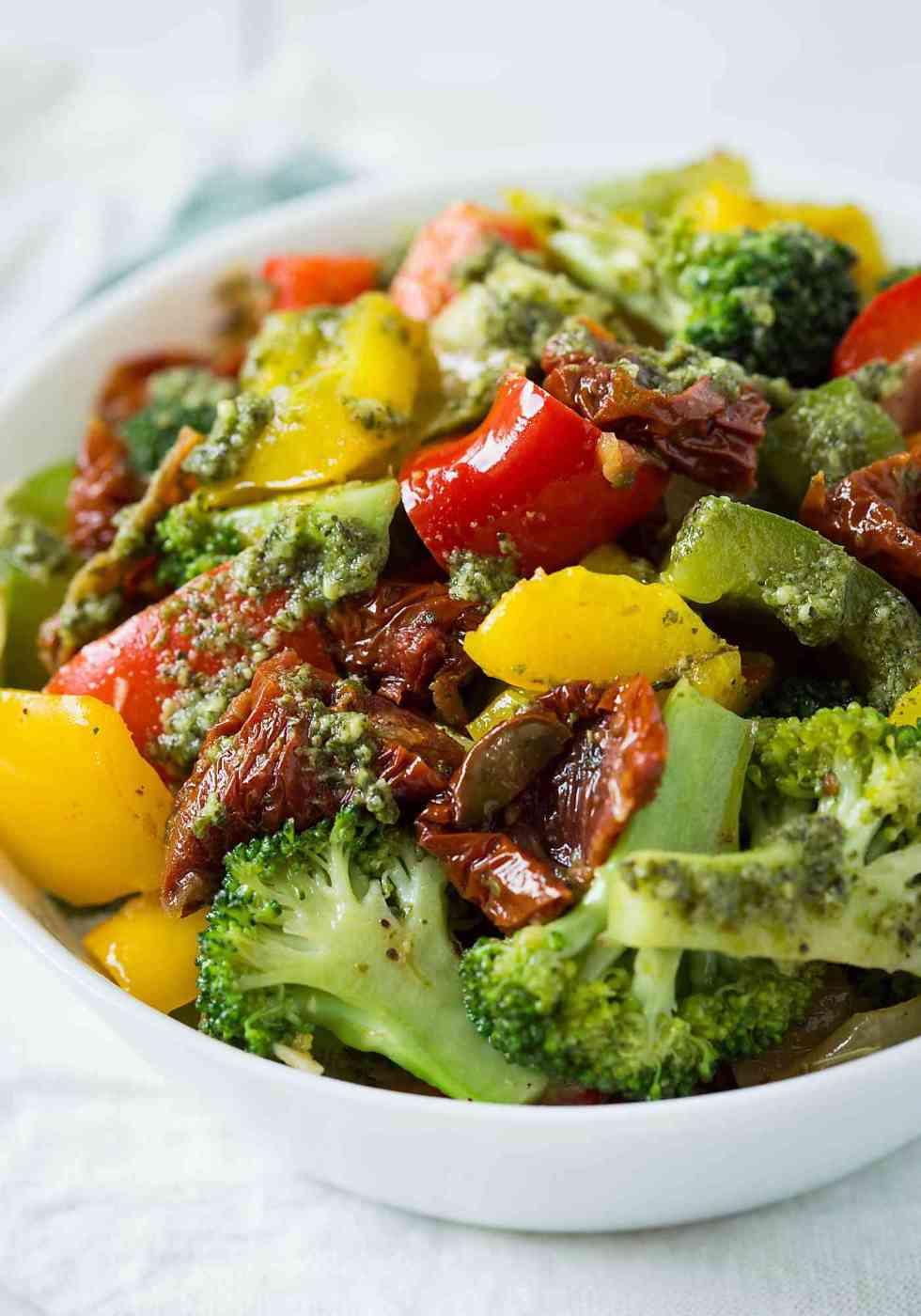 Bell Pepper Recipes: Veggie Stir Fry