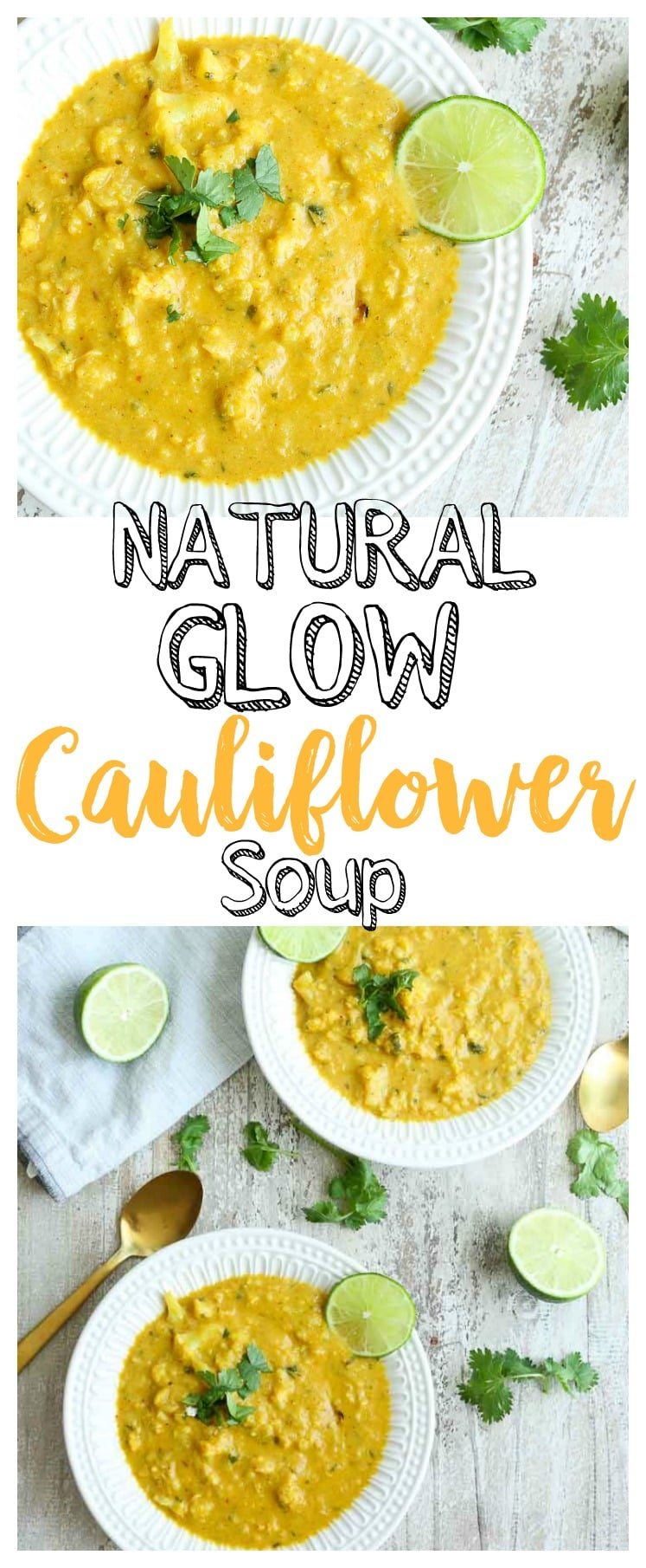 Cauliflower soup | gluten-free | vegan friendly | Paleo | healthy recipe
