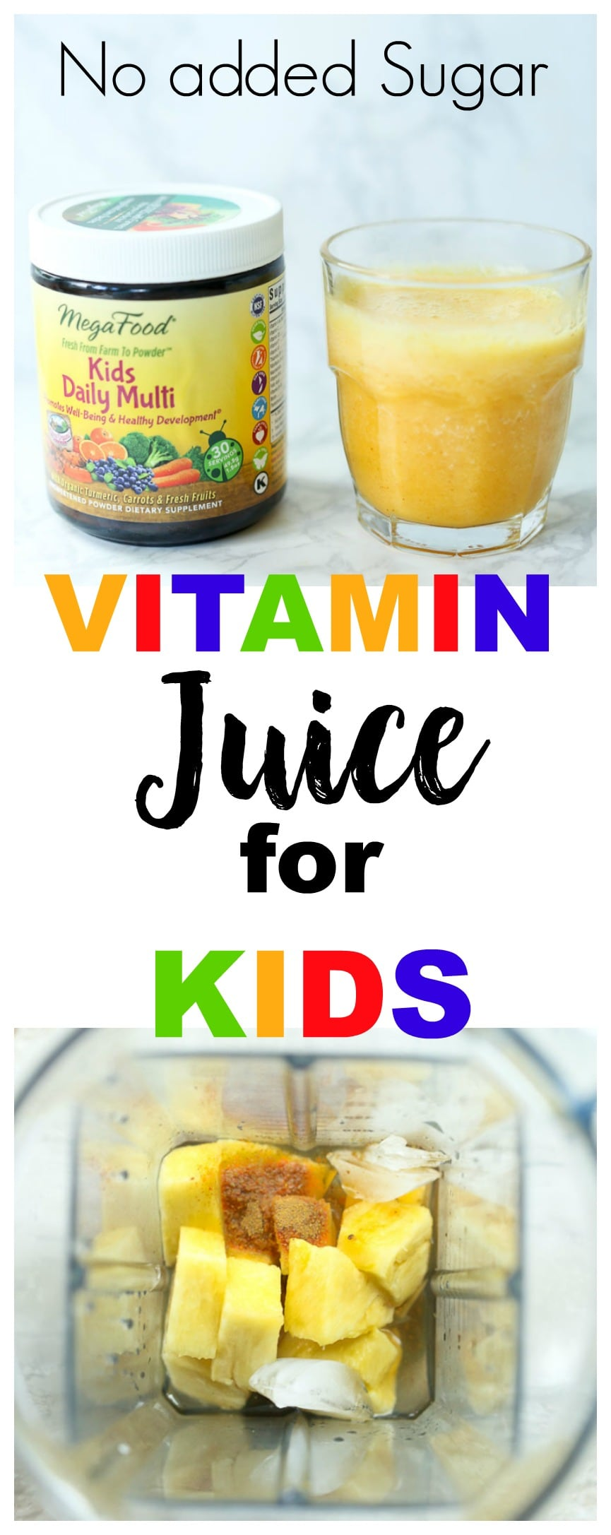 MegaFood Kids Daily Multi Review Vitamin Juice for Kids