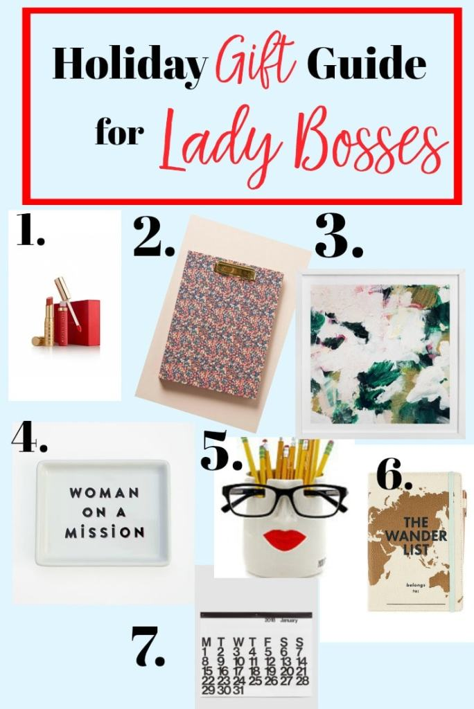 Holiday Gift Guide Lady Bosses