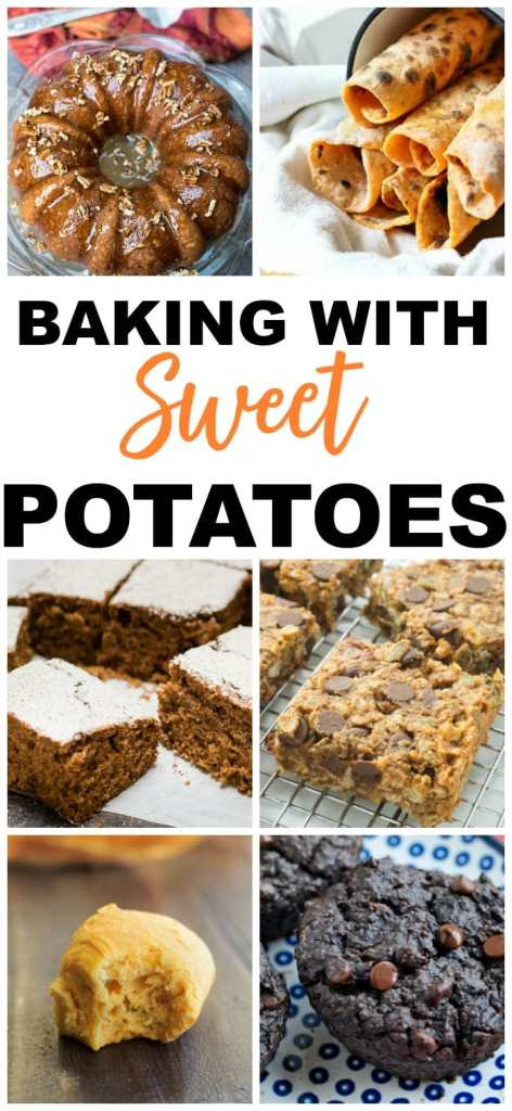 SWEET POTATO RECIPES BAKING
