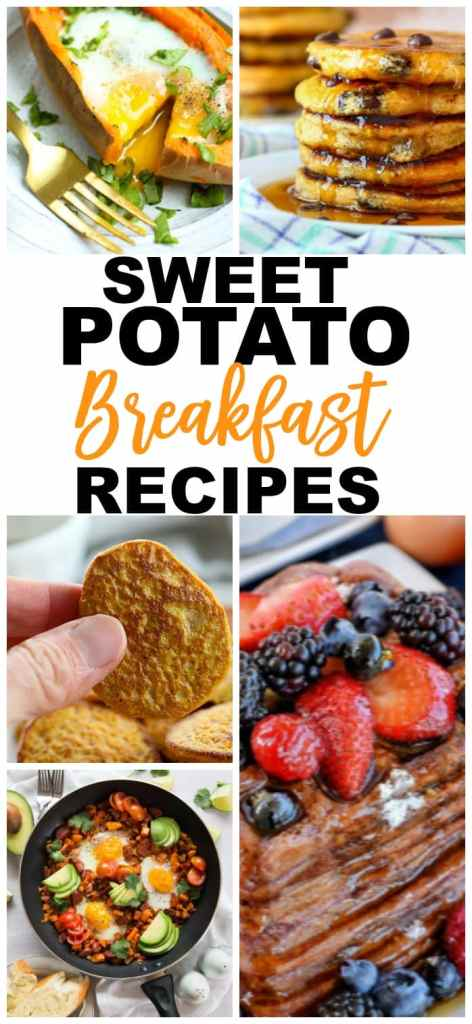 Sweet Potato Recipe Breakfast rEcipes #breakfast #healthy #sweetpotatoes