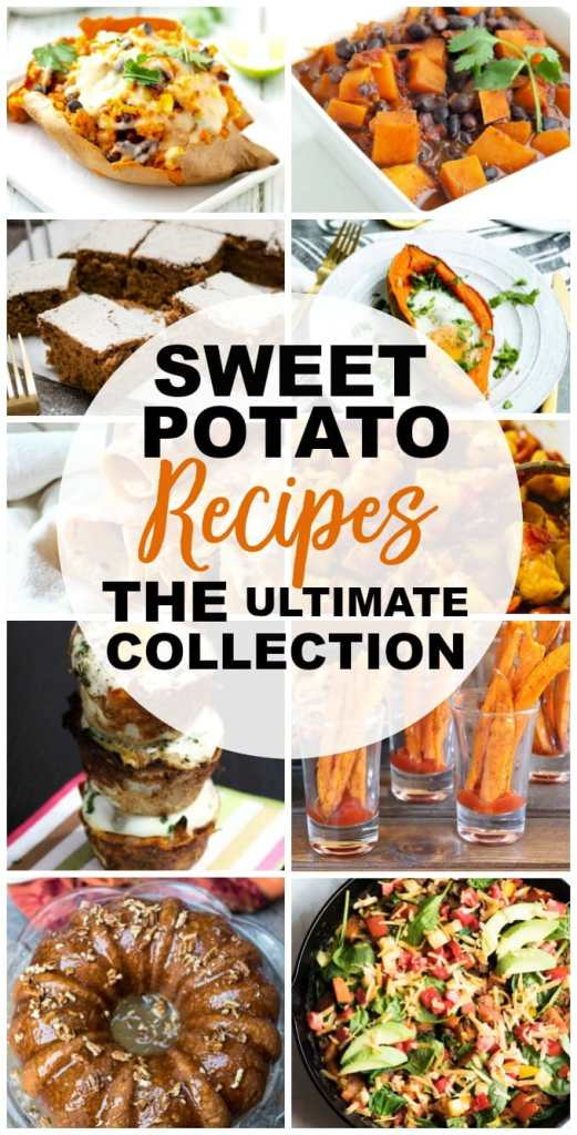 Sweet Potato Recipes #sweetpotato #healthy #glutenfree #vegan #recipes #easy #dinner #dessert
