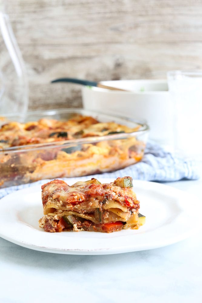 Vegetable Lasagna Recipe #lasagna #vegetable #vegetarian #healthy #easy